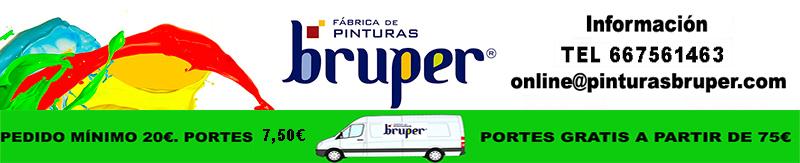 Pinturas Bruper. Tienda Online